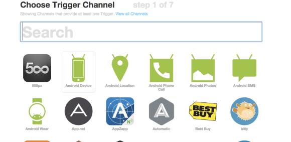 IFTTT logos and icons
