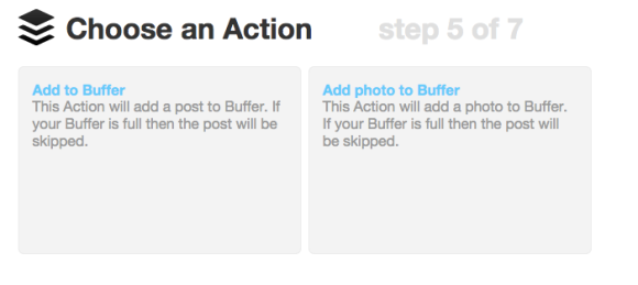Click on ADD TO BUFFER